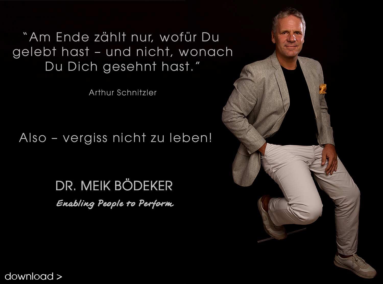 Weisheiten Arthur Schnitzler